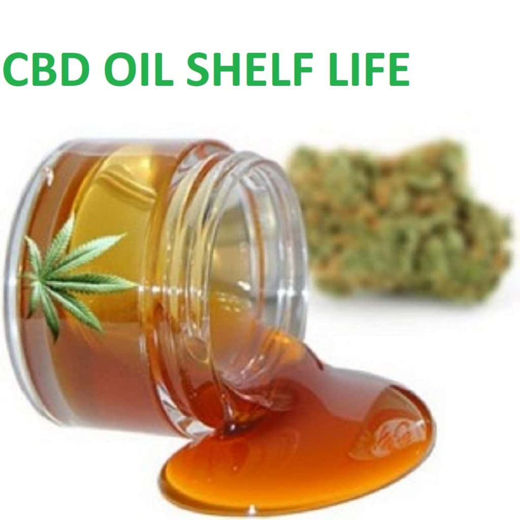 what is the shelf life of cbd oil?